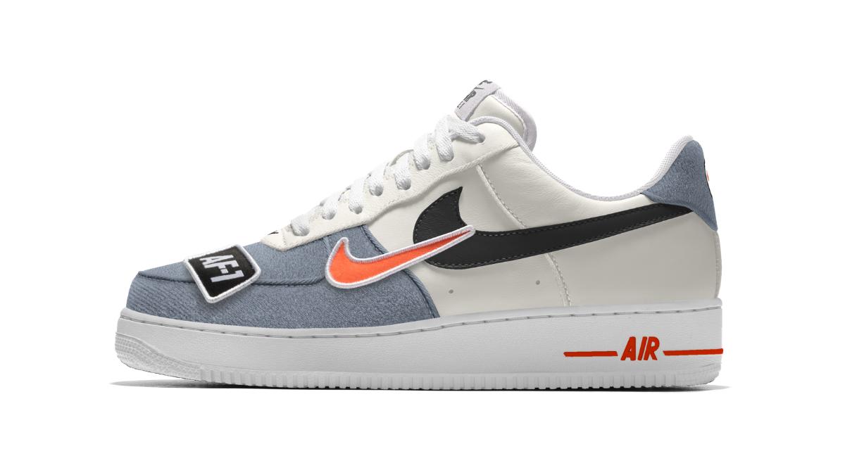 timeless design ec32c c5e43 ... AF1). Nike Patch