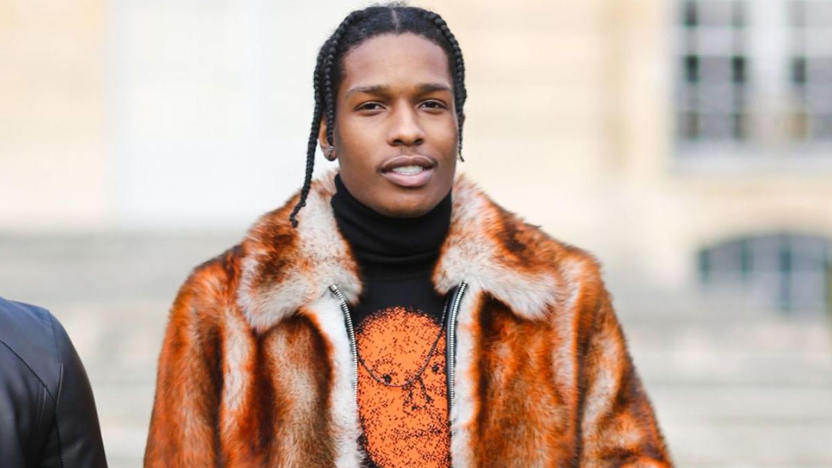 Asap Rocky Fashion