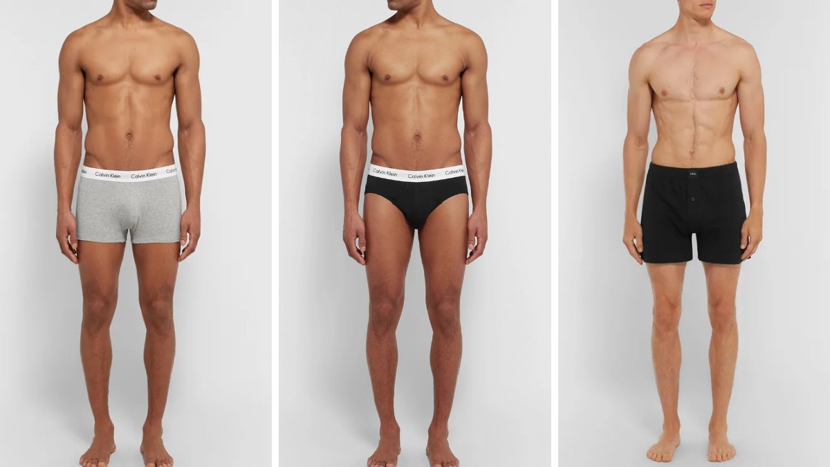 Guide to Mens Underwear Types